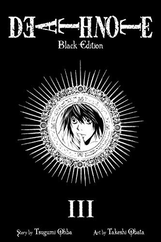 Tsugumi Ohba Death Note Volume 3 Black