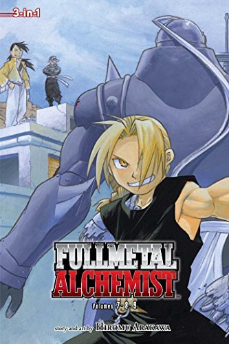 Hiromu Arakawa Fullmetal Alchemist (3 In 1 Edition) Vol. 3 Includes Vols. 7 8 & 9 0003 Edition;viz Media Omnib