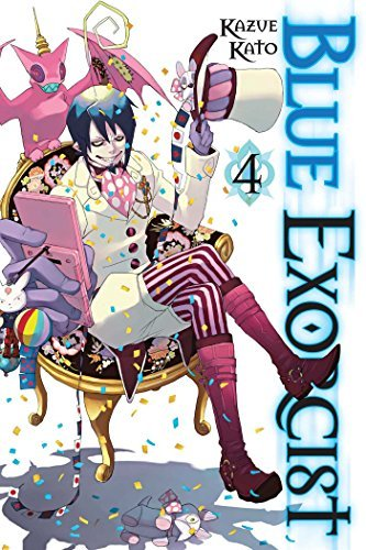Kazue Kato Blue Exorcist Vol. 4 Original