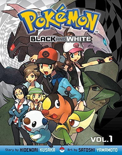 Hidenori Kusaka Pokemon Black And White Volume 1