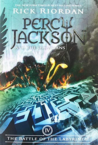 Rick Riordan The Battle Of The Labyrinth Percy Jackson And The Olympians Book 4