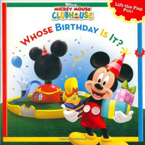Disney Book Group Whose Birthday Is It? A Lift The Flap Surprise Story