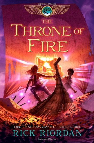 Rick Riordan The Kane Chronicles Book Two The Throne Of Fire