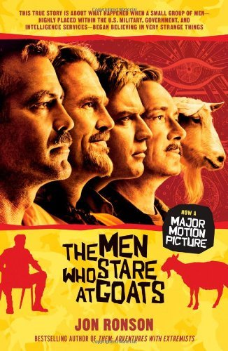 Jon Ronson The Men Who Stare At Goats Media Tie In