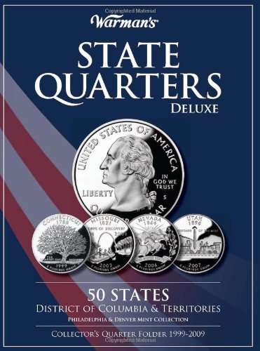 Warman's State Quarters Deluxe 50 States District Of Colum Philadelphia & Denver Mint Collection Collector'