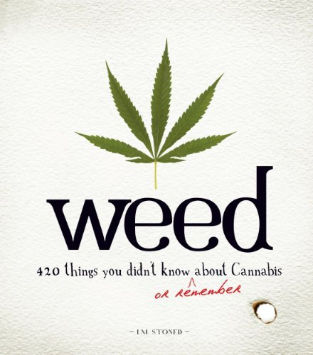 Stoned I. M. Weed 420 Things You Didn't Know Or Remember About Cann
