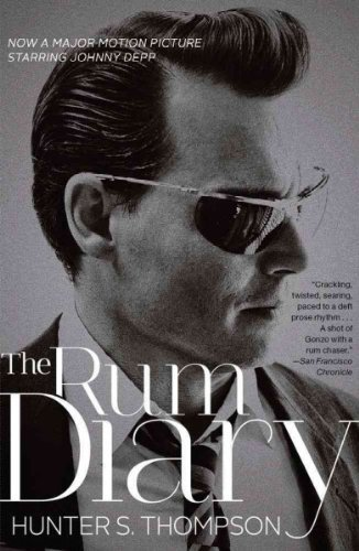 Hunter S. Thompson The Rum Diary Media Tie In