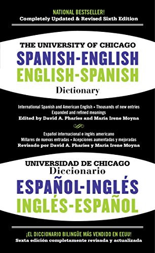 David A. Pharies The University Of Chicago Spanish English Dictiona 0006 Edition;