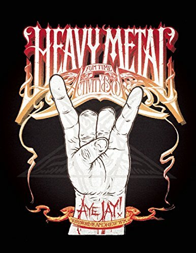 Aye Jay Morano Heavy Metal Fun Time Activity Book