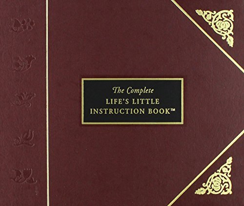 H. Jackson Brown The Complete Life's Little Instruction Book