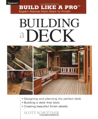 Scott Schuttner Building A Deck