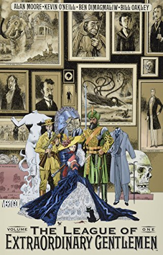 Alan Moore League Of Extraordinary Gentlemen The Vol 01