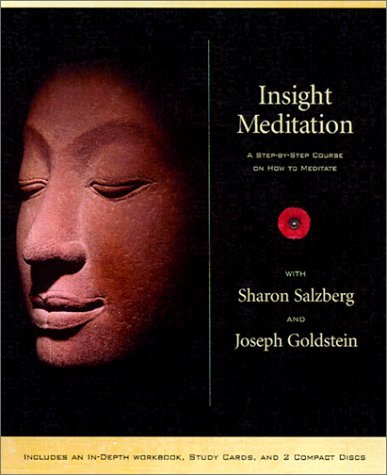 Sharon Salzberg Insight Meditation Kit [with Workbook And 12 Study