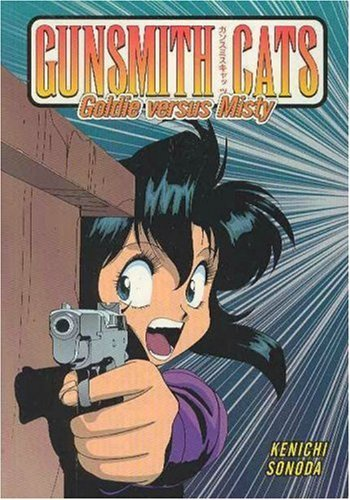 Kenichi Sonoda Gunsmith Cats Goldie Vs. Misty