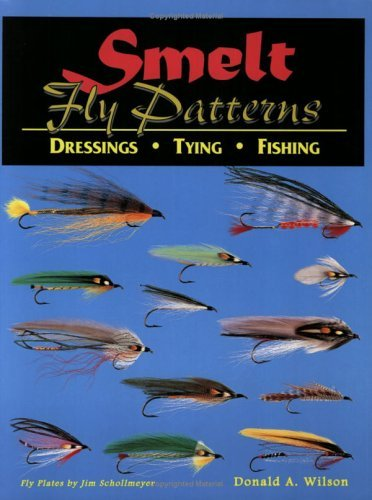 Donald A. Wilson Smelt Fly Patterns Dressings Tying Fishing