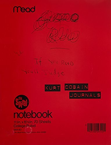 Kurt Cobain Journals 0003 Edition;