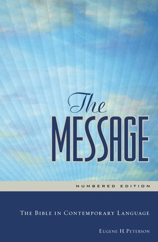 Eugene H. Peterson Message Ms Numbered