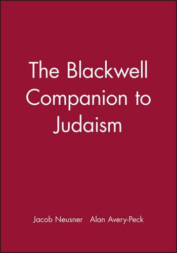 Jacob Neusner The Blackwell Companion To Judaism