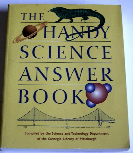 Science & Technology Department Of The Carnegie Handy Science Answer Book