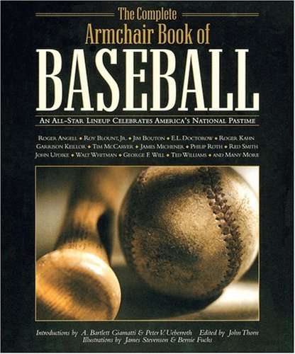 John Thorn Complete Armchair Book Of Baseball All Star Lineup Celebrates America's Nati