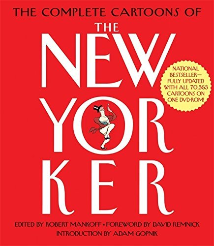 Adam Gopnik Complete Cartoons Of The New Yorker [with DVD Rom] Revised