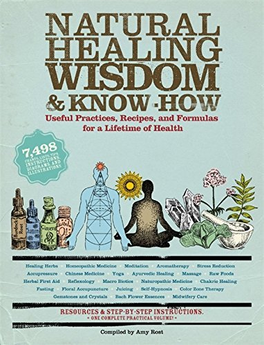 Amy Rost Natural Healing Wisdom & Know How Useful Practices Recipes And Formulas For A Lif