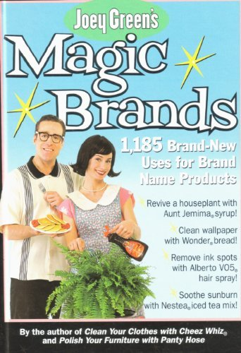 Joey Green Joey Green's Magic Brands 1 185 Brand New Uses F