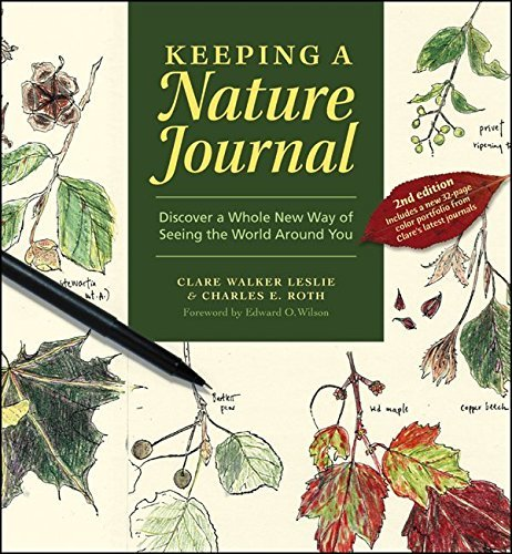 Clare Walker Leslie Keeping A Nature Journal Discover A Whole New Way Of Seeing The World Arou 0002 Edition;revised