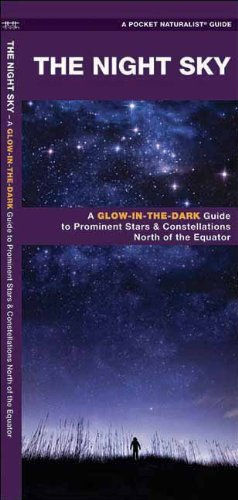 James Kavanagh The Night Sky A Glow In The Dark Guide To Prominent Stars & Constellations North Of The Equator
