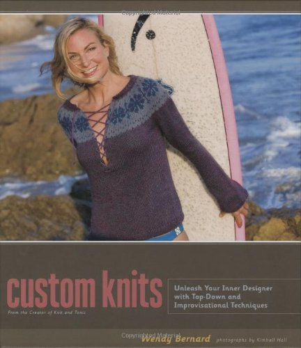 Wendy Bernard Custom Knits Unleash Your Inner Designer With Top Down And Imp