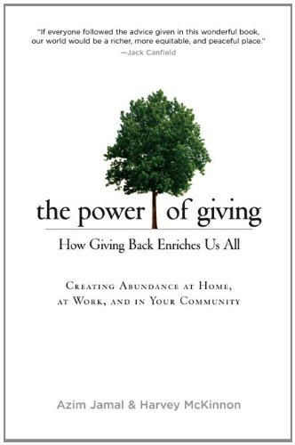 Azim Jamal The Power Of Giving How Giving Back Enriches Us All
