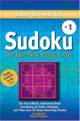 Michael Mepham The Book Of Sudoku The Hot New Puzzle Craze