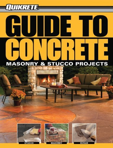 Creative Publishing Quikrete Guide To Concrete Masonry & Stucco Projects