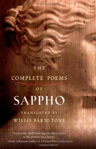 Willis Barnstone The Complete Poems Of Sappho
