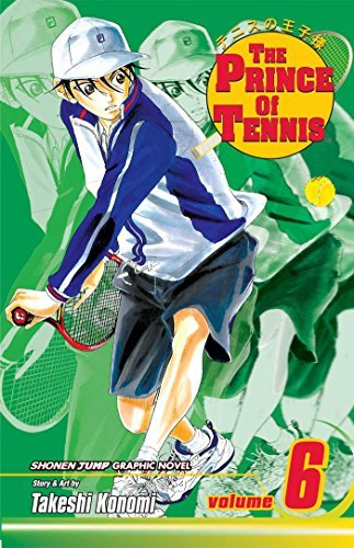 Takeshi Konomi The Prince Of Tennis Volume 6