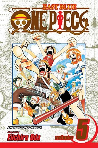 Eiichiro Oda One Piece Volume 5