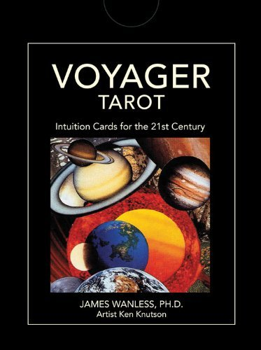 James Wanless Voyager Tarot Intuition Cards For The 21st Century [with Guideb