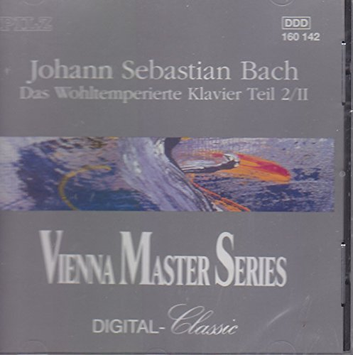 J.S. Bach Well Tempered Clavier Part 2 Vol. 2