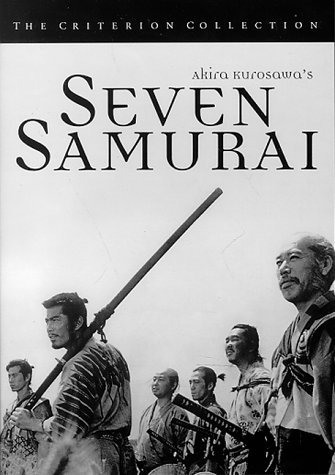 Seven Samurai Shimura Mifune Inaba Bw Jpn Lng Eng Sub Keeper Nr Criterion Collection