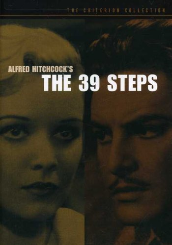 39 Steps (1935) Donat Carroll Mannheim Tearle Bw Keeper Nr Criterion Collection