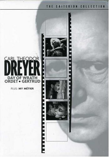 Carl Theodor Dreyer Carl Theodor Dreyer Nr 4 DVD Crit. C Criterion