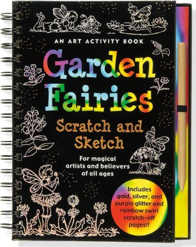 Peter Pauper Press Garden Fairies [with Scratch Off Pencil]