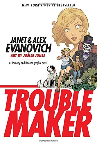 Joelle Jones Troublemaker Book 1 A Barnaby And Hooker Graphic Novel