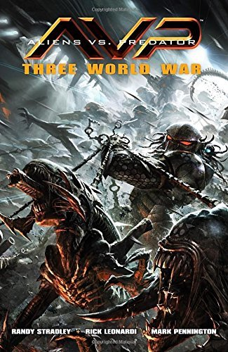 Stradley Randy Aliens Vs. Predator Three World War