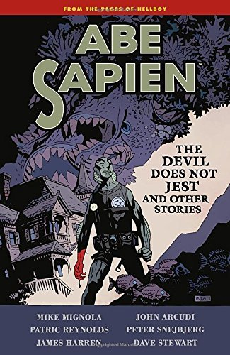 Mike Mignola Abe Sapien Volume 2 The Devil Does Not Jest And Other Stories