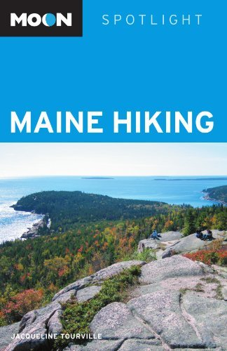 Jacqueline Tourville Moon Spotlight Maine Hiking