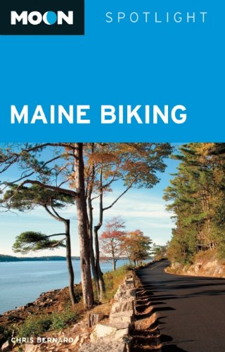 Chris Bernard Moon Spotlight Maine Biking
