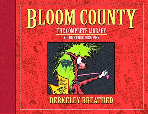 Berkeley Breathed The Bloom County Library Volume 4 1986 1987