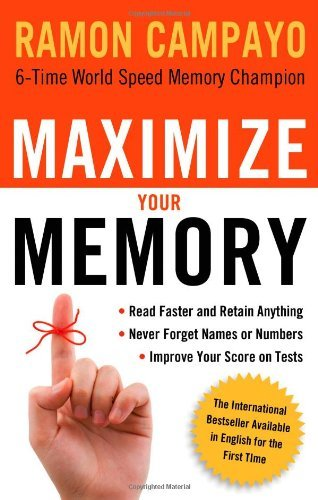 Ramon Campayo Maximize Your Memory *read Faster And Retain Anything *never Forget A