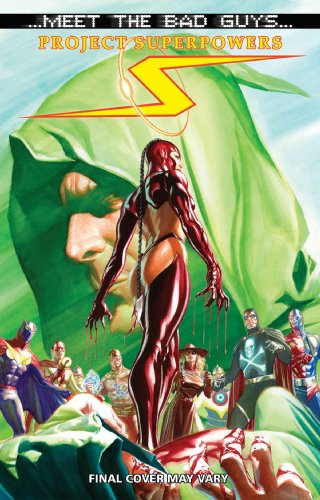 Alex Ross Project Superpowers Meet The Bad Guys